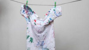 пятно от краски с одежды