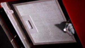 отмыть фильтр кухонной вытяжки от жира