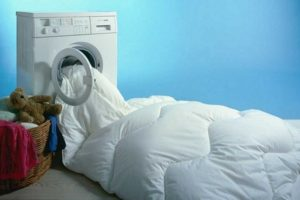 постирать ватное одеяло