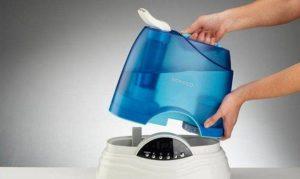 чистить увлажнитель воздуха