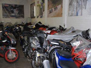 Где можно хранить мотоцикл, если нет гаража