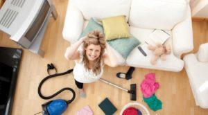 Как заставить себя убираться в квартире