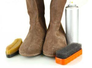 Чем и как чистить обувь из нубука