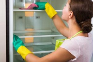 Чем можно отмыть холодильник внутри от желтизны