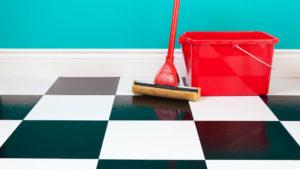 Чем отмыть грунтовку с плитки на полу в домашних условиях