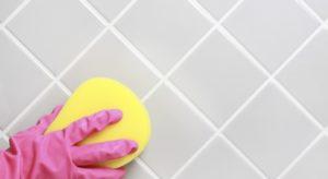 Чем отмыть затирку с плитки