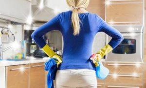 Чем отмыть жир с кухонной мебели в домашних условиях