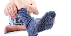 Как быстро высушить носки