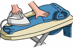 Как гладить рубашку с длинным рукавом в домашних условиях