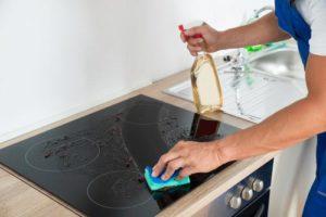 Как и чем чистить стеклокерамическую поверхность плиты