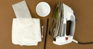 Как и чем чистить утюг в домашних условиях