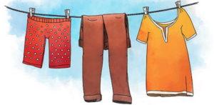 Как можно быстро высушить спортивные штаны