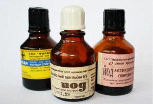 Как можно отмыть йод с кожи в домашних условиях