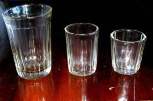 Как отмыть граненые стаканы, чтобы не было разводов