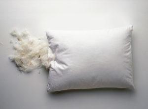 Как почистить перьевую подушку в домашних условиях