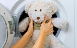 Как постирать мягкие игрушки в машинке-автомат