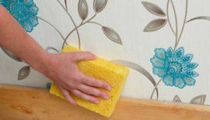 Можно ли мыть флизелиновые обои