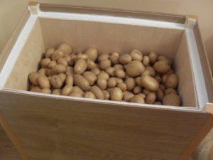При какой температуре необходимо хранить картофель
